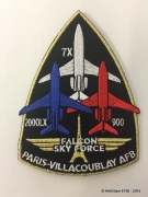 Patch Falcon Sky Force